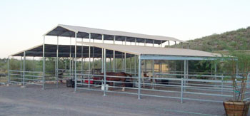Mare Motels Open Air Barn Kits Livestock Shelters